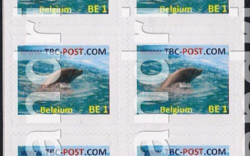 14 mei: BE-1: Dolfijn (vel van 10)