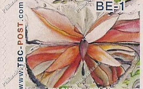 BE-1 (€0.67) - Insecten, De Monarch