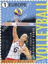 België - Bpost, Europees Volleybalkampioenschap voor vrouwen in Nederland & België