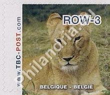 België - TBC-Post, uitgifte 'Leeuwen' - waarde ROW-3