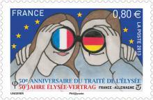 50e verjaardag elysee-verdrag - uitgifte frankrijk