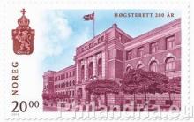 Noorwegen - 200e verjaardag van het Hoog Gerechtshof van Noorwegen