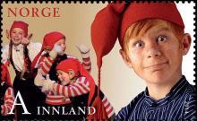 Noorwegen: Kerstzegels 2014